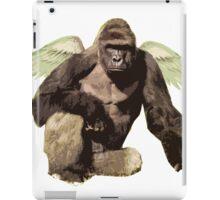 Harambe from above iPad Case/Skin