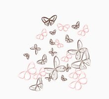 butterfly sketch Unisex T-Shirt