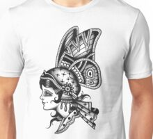 Tattoo Butterfly Girl Unisex T-Shirt