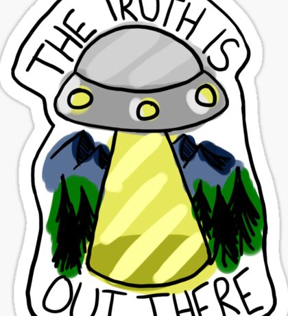 The Truth is Out There - Coloured Sticker