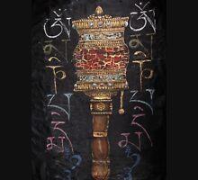 Buddhist Prayer Wheel Tank Top
