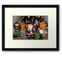 Ho Ho Ho ~ Christmas Fun! Framed Print