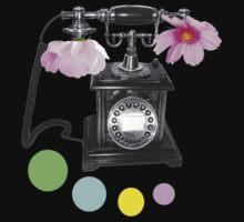 Callin flower One Piece - Short Sleeve