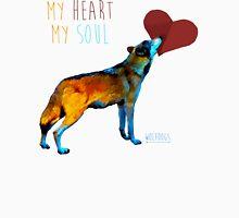 Wolf Heart Unisex T-Shirt