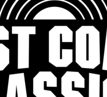 West Coast Classics Sticker