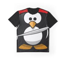 Pinguin and the birds Graphic T-Shirt