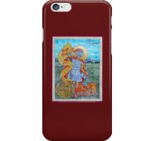St. Florian Icon - Patron Saint of Firefighters. E mail me to find out how to have your logo or state flag on the shield! iPhone Case/Skin