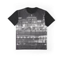 Riverfront Lights Graphic T-Shirt