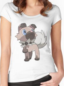 Rockruff / Iwanko Women's Fitted Scoop T-Shirt