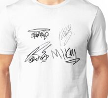 My Chemical Romance Signatures Unisex T-Shirt
