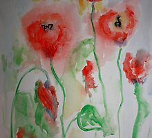The Poppies by Kate Delancel Schultz