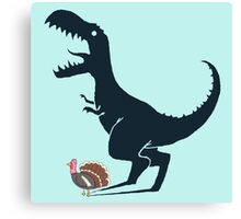 turkeysaurus Canvas Print