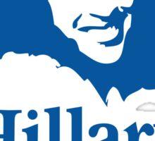 Hillary For President - Red White & Blue Sticker