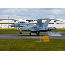 Super Hornet Touchdown Photographic Print