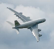 A380 Banks by TomGreenPhotos