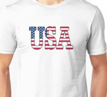 USA Stars and Stripes American Flag Unisex T-Shirt