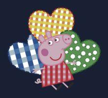 Peppa Pig Hearts Kids Tee