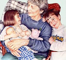A Day with Gramma by Margaret Harris