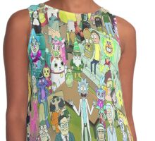 rick and morty waldo Contrast Tank