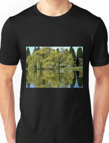 Trees Reflected in the Lake Unisex T-Shirt