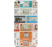 Nintendo Game & Watch Collection! iPhone Case/Skin