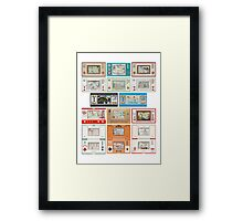 Nintendo Game & Watch Collection! Framed Print