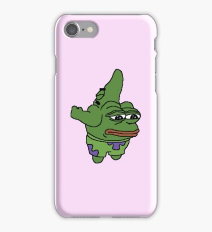 Patrick Star / Pepe  iPhone Case/Skin