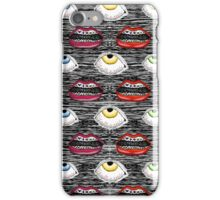 Lips and Eyes iPhone Case/Skin