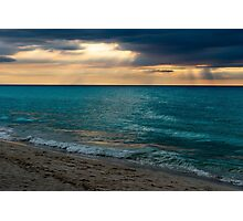 Drama Over Varadero Photographic Print