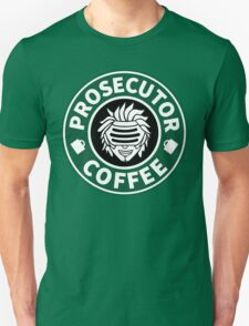 Prosecutor Coffee Unisex T-Shirt