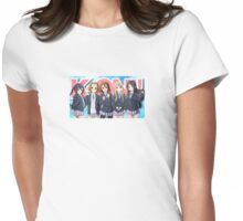 K-On! Ho-kago Tea Time Womens Fitted T-Shirt