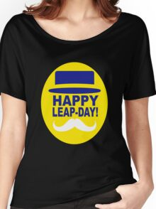 HAPPY LEAP-DAY 2 x Women's Relaxed Fit T-Shirt
