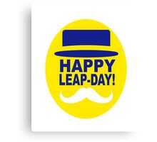 HAPPY LEAP-DAY 2 x Canvas Print