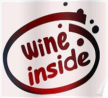WINE INSIDE Poster