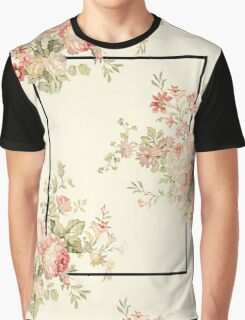 The 1975 - Floral Banner (Rectangle Only) Graphic T-Shirt