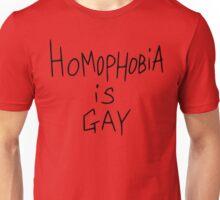 Homophobia Is Gay - Frank Iero Unisex T-Shirt