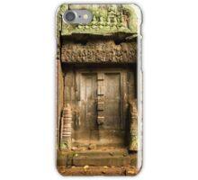 Ancient Temple Blind Door iPhone Case/Skin