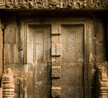 Ancient Temple Blind Door Sticker