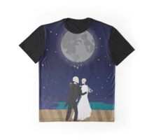 A Skeleton Wedding Graphic T-Shirt
