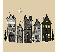Haunted Houses Photographic Print