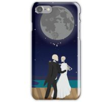 A Skeleton Wedding iPhone Case/Skin