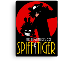 Spiff and Tiger Canvas Print