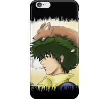 ein and spike smoking a cig iPhone Case/Skin