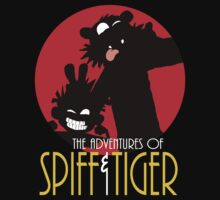 Spiff and Tiger by Bleee