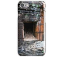 Banteay Prei Temple Ruins iPhone Case/Skin