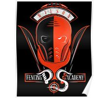 Fencing Academy Poster