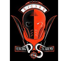 Fencing Academy Photographic Print