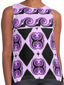 Curves, Diamonds And Curls  Contrast Tank