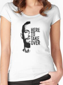 McGregor - Here to take over  Women's Fitted Scoop T-Shirt