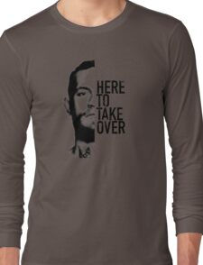 McGregor - Here to take over  Long Sleeve T-Shirt